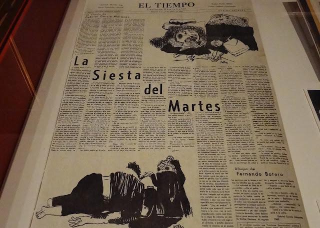 コロンビアの日刊紙の見出しでボテロを皮肉