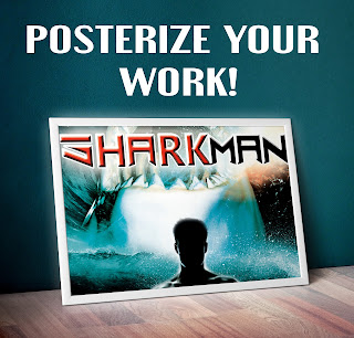 visulartzi work, orignial visualartzi poster, creative ways to promote your designs videos and artwork