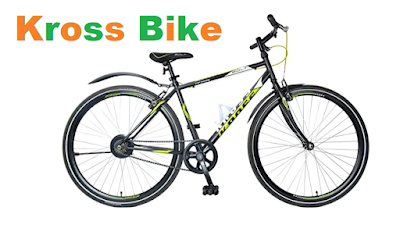 KROSS Men Bolt 28T Single Speed Road Bike with Slim Tyres for Effortless Riding
