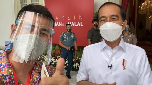 Dear Raffi Ahmad, Ini Pidato Presiden Ingatkan Taat Prokes Meski Sudah Divaksin