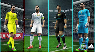 PES 2013 - Real Madrid 17-18 Kits Leaked By Mustafa Issa