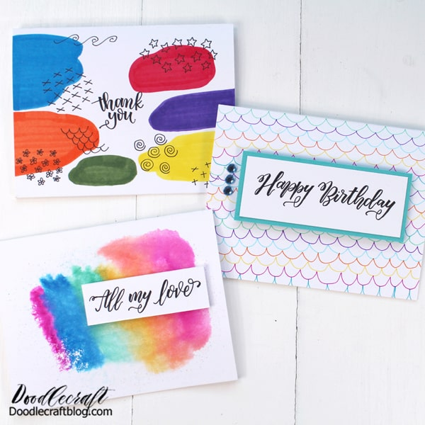 Before you know it, you'll be making cards for every occasion! I love making handmade cards. Now, I give packages of blank handmade cards as gifts too.