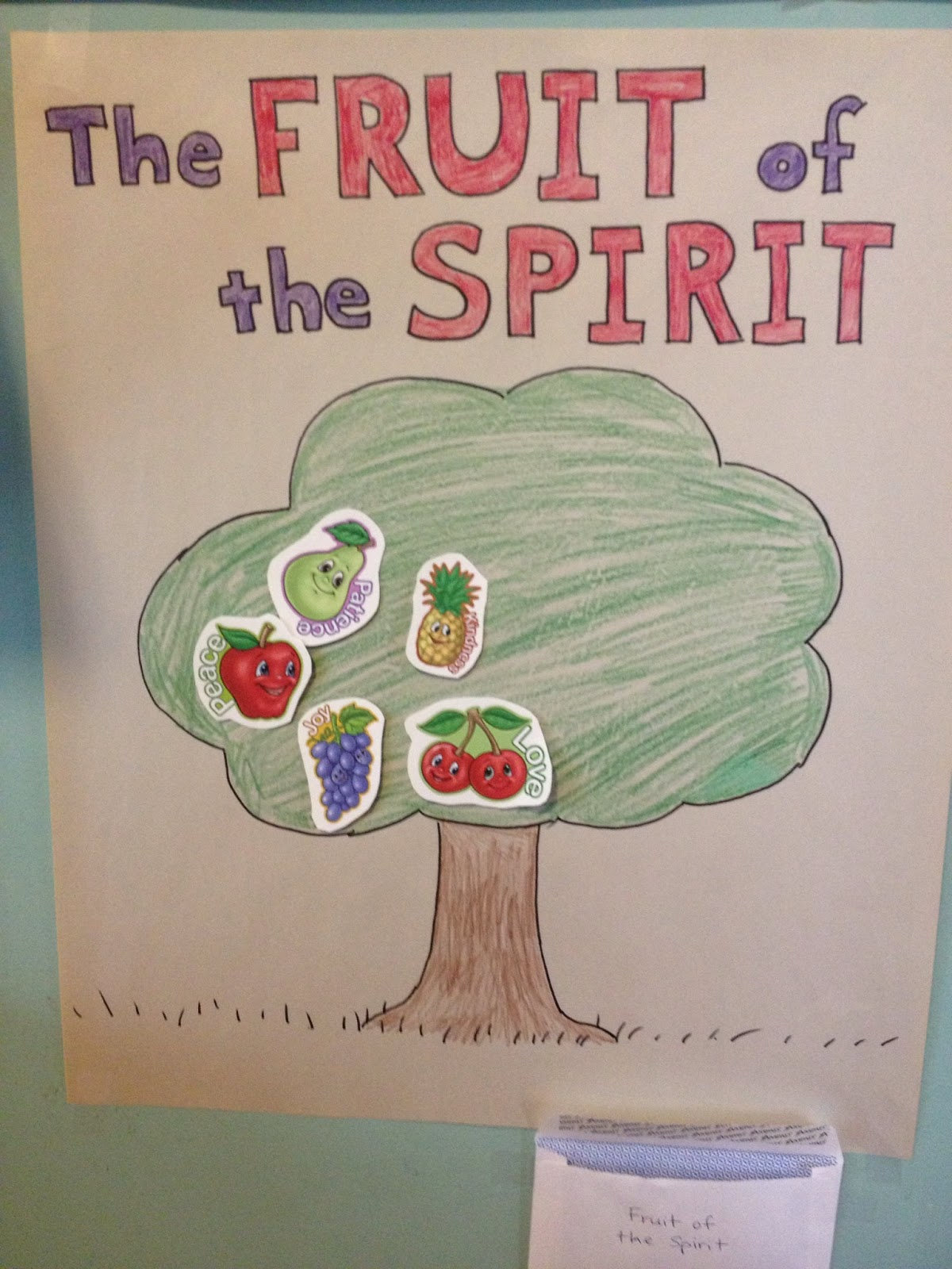 Four Maples Growing Together Fruit Of The Spirit Bible