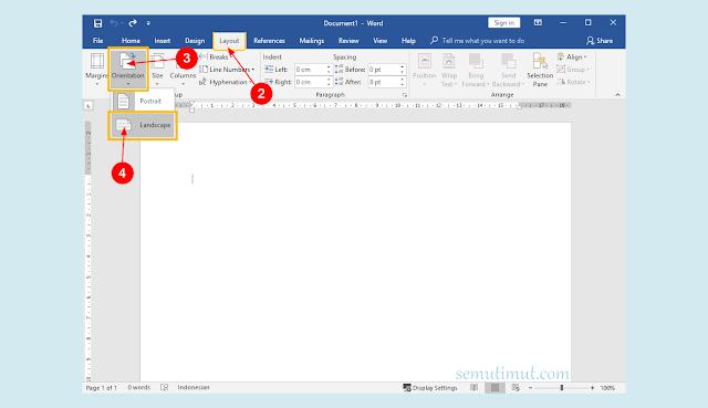 cara membuat buletin di microsoft word 2010
