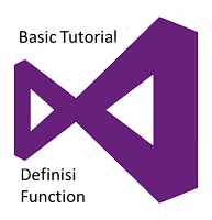 Pengertian Function dan Rekursif Function VB.Net berserta contoh-contohnya
