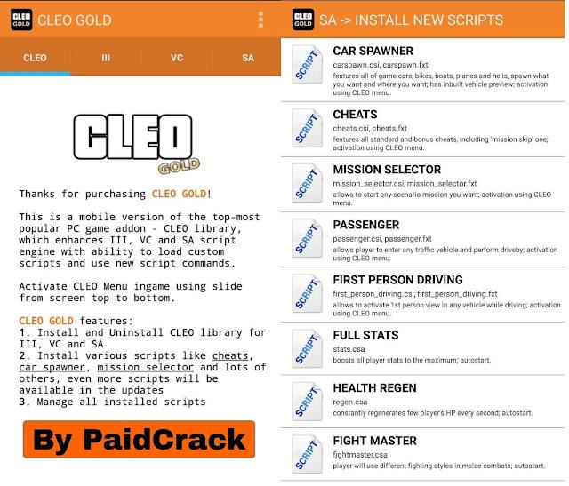 CLEO Gold v1.1.2 Apk