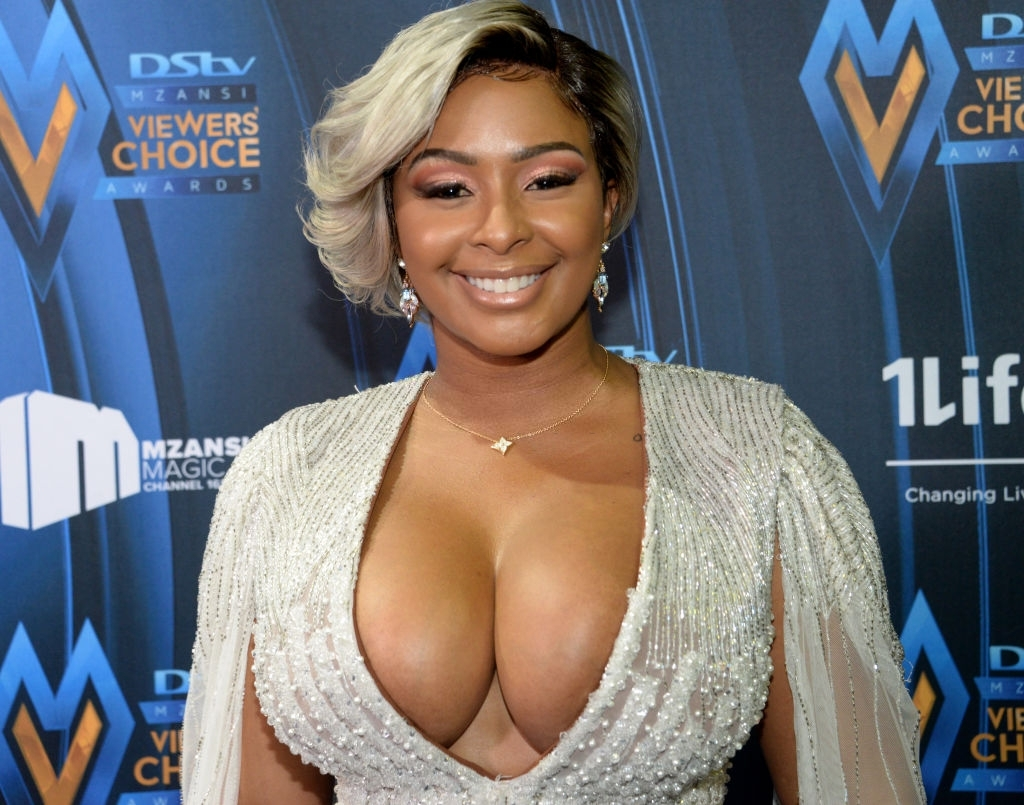 Boity Thulo At The DStv Mzansi Viewers' Choice Awards 2020 in South Africa