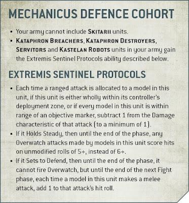 Adeptus Mechanicus defence Cohort