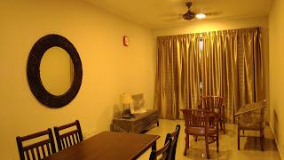 Warih Homestay : Ruang Tamu Yang Menanti Pelanggan Pertamanya