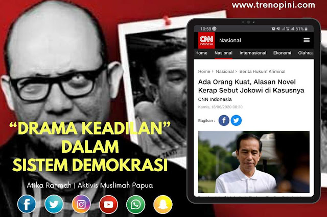 """DRAMA KEADILAN"" DALAM SISTEM DEMOKRASI"