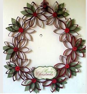 corona-navideña-con-rollos-de-papel-higienico