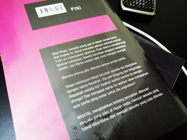 Review Novel Mental by Shaz Johar