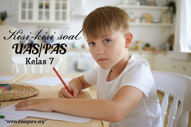 Kisi-Kisi Soal PAS PKN Kelas 7