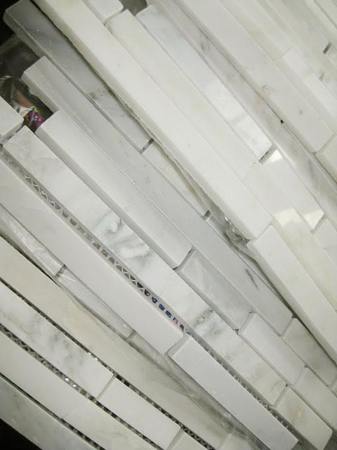 Installing a Marble Backsplash