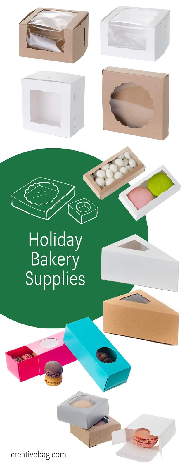 Holiday Baking - Sweet Packaging Inspiration for Gift Giving | creativebag.com