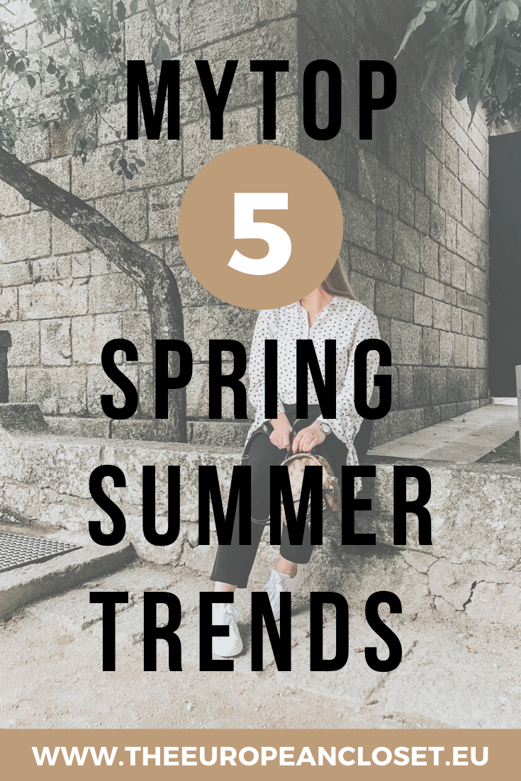 Spring is right around the corner and with it comes new trends. I'm always excited to see which items will be trending in a particular season. or this upcoming season, I knew there would be a lot of trends that would transition form A/W to S/S but there are new trends that I never even crossed my mind. Today I've gathered my top 5 favorite S/S to show you guys! #fashion #springsummertrends #trends