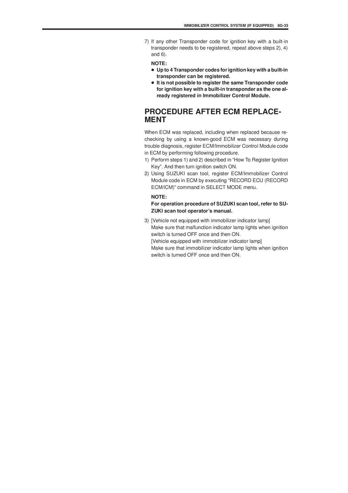 suzuki jimny service manual סוזוקי גימני ספר שירות אחזקה