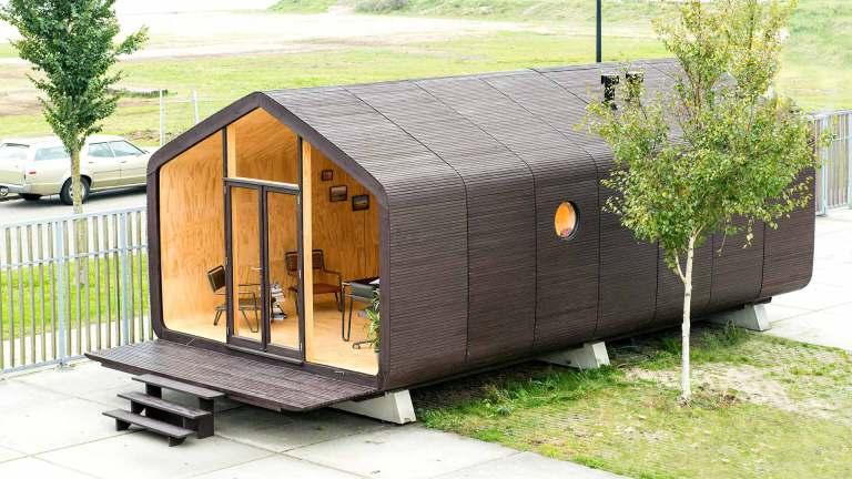 Wikkelhouse, casa de cartón ecológica y recicable