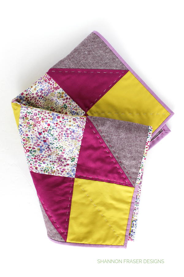 Indian Star Quilted Mini | Quilt Big Blog Hop | Shannon Fraser Designs