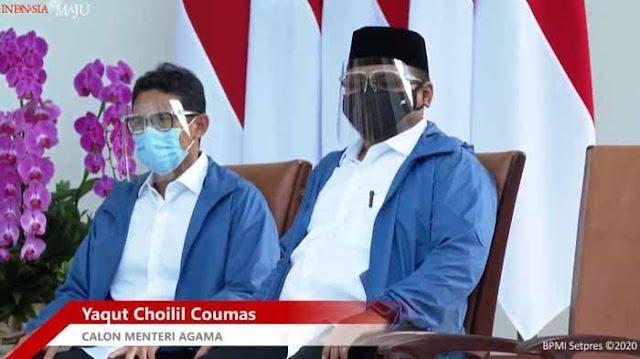 Yaqut Cholil-Sandiaga Jadi Menteri, Munarman Kutip Ayat Al-Qur'an