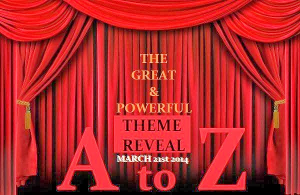 Revealing your theme for A to Z Challenge