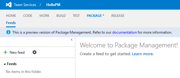 Package Management - New Feed(1)