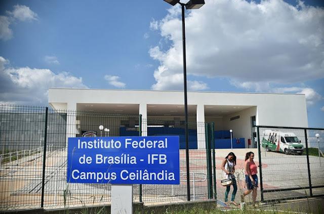 Instituto Federal de Brasília divulga edital do Processo Seletivo 2019/1