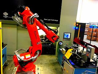 Boru Bukme Makinesi Besleme Robotu