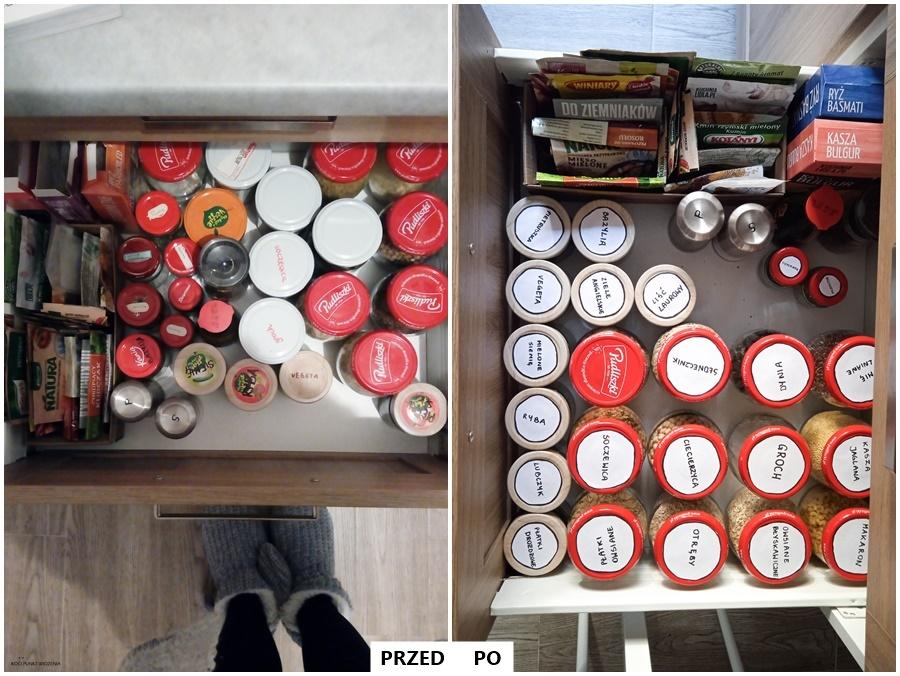 jak przechowywać produkty sypkie w kuchni?