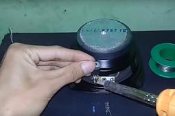cara mudah membuat speaker mini untuk hp