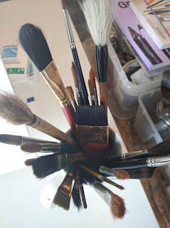 Brush set Francesco Fontana Fine Artist