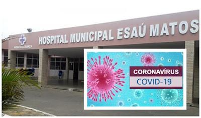 Urgente em Conquista-BA: Crianças com suspeitas de coronavírus são internadas no Esaú Matos