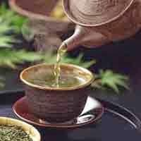 Ginseng, uso do chá