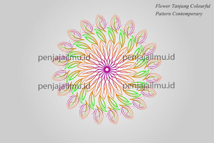 Vector Geometric Pattern Malay