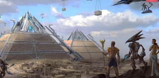 pyramid were built by alien