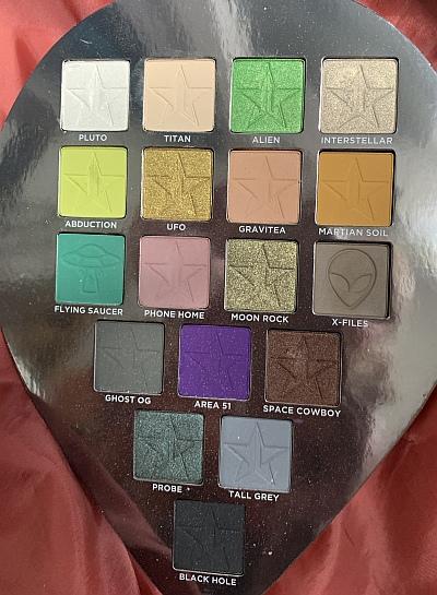 Jeffree Star Cosmetics: Alien-Lidschattenpalette