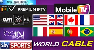 50 سيرفر IPTV شغال بتاريخ اليوم لتشغيل جميع الباقات التلفزية العربية و الاجنبية