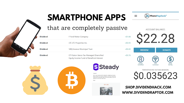 Smartphone Apps That Pay Passive Dividends In 2020