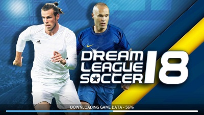 Download game android mod Dream League Soccer 2018 apk