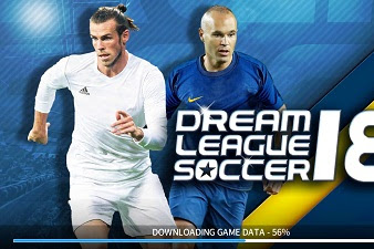 Dream League Soccer 2018 v5.064 Mod Apk For Android