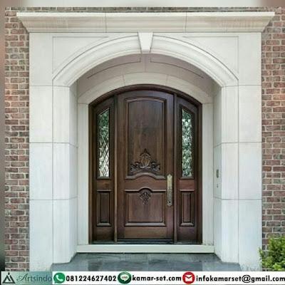 desain 1 pintu rumah minimalis