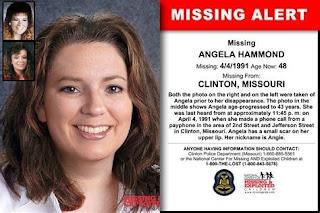 Anglea Hammond went missing from Clayton, Missouri in 1990 | Momma Loves True Crime