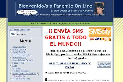 274. Noticias Panchito 14: Nuevo aspecto de mi blog y otros
