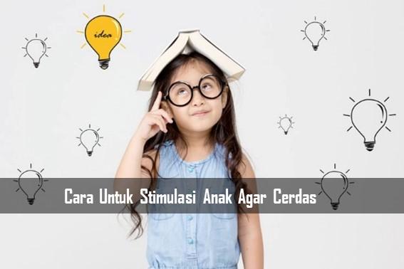Cara Untuk Stimulasi Anak Agar Cerdas