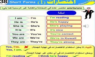 مذكرة قواعد اللغة الانجليزية pdf كاملة لجميع المراحل