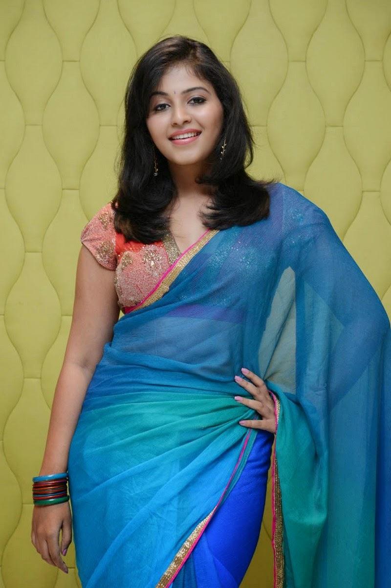 actress anjali sexy hot photos in saree half saree stills