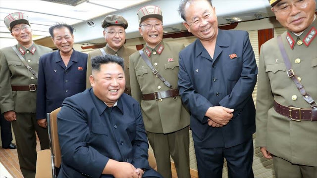 """Kim está """"muy satisfecho"""" con nuevos lanzamientos de proyectiles"""