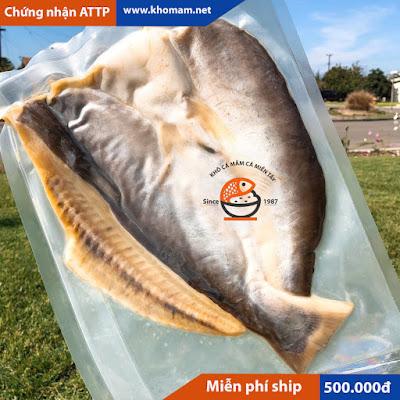 Khô cá tra phồng biển Hồ CamPuchia