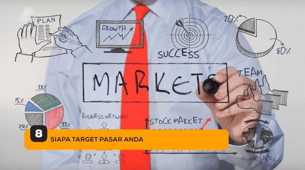8. Siapa Target Pasar Anda