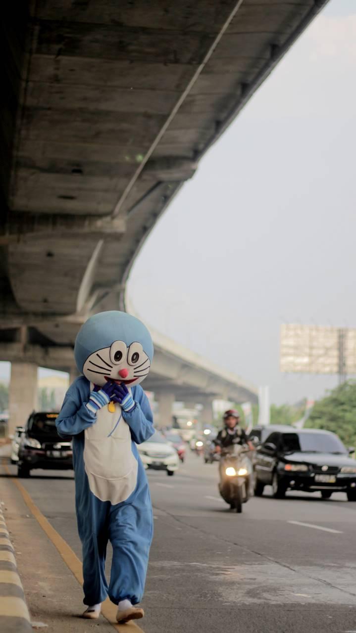 Hasil Hunting Foto Kemarin : Doraemon Kurus